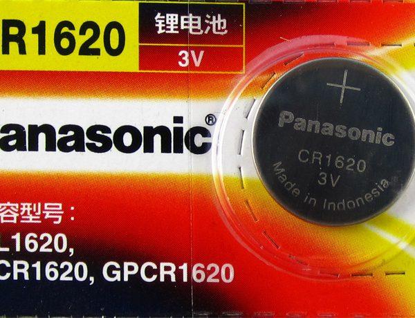 Pin CR1620 Panasonic 3V Lithium chính hãng