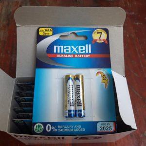 Pin Maxell AAA Alkaline LR03 (GD) 2B