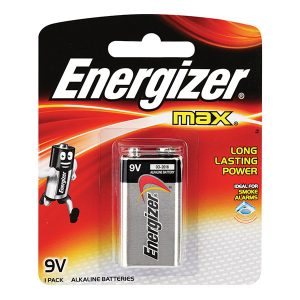 Pin 9V Energizer 522 BP1 Alkaline