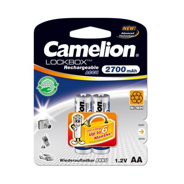 Pin sạc AA Camelion 2700 mAh chính hãng