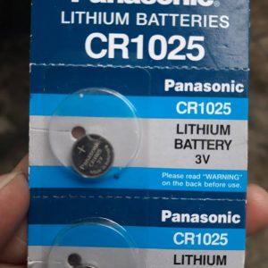 Pin CR1025 Panasonic Lithium 3V chính hãng