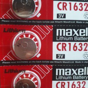 Pin CR1632 Maxell Lithium 3V chính hãng
