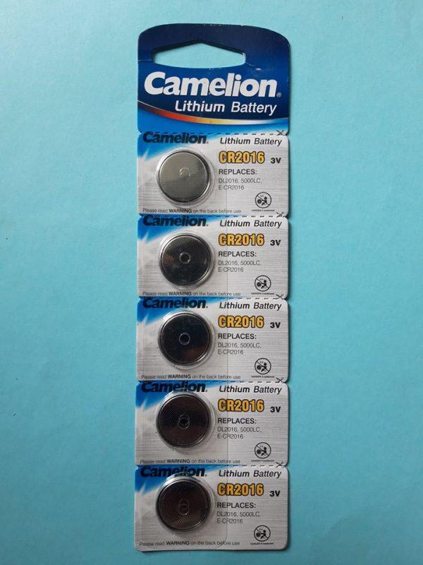 Pin CR2016 Camelion Lithium 3V chính hãng