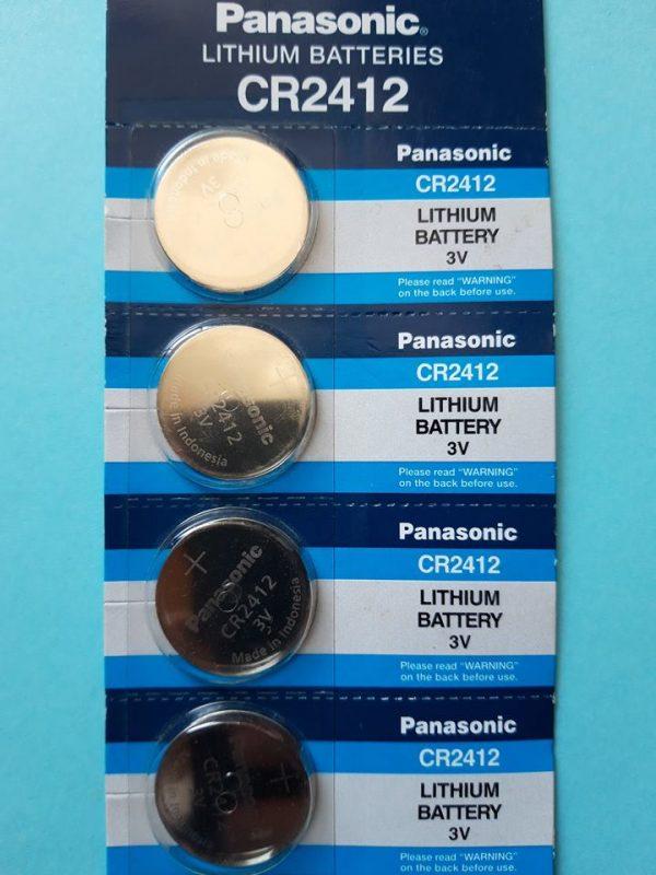 Pin CR2412 Panasonic Lithium 3V