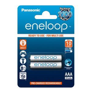 Pin sạc Eneloop BK-4MCCE/2BV AAA vỉ 2 viên