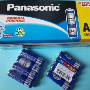 Pin Panasonic R6UT/4S - Pin tiểu xanh AA Đà Nẵng