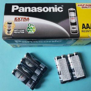 Pin Panasonic R03NT/2S - Pin đũa đen AAA Đà Nẵng