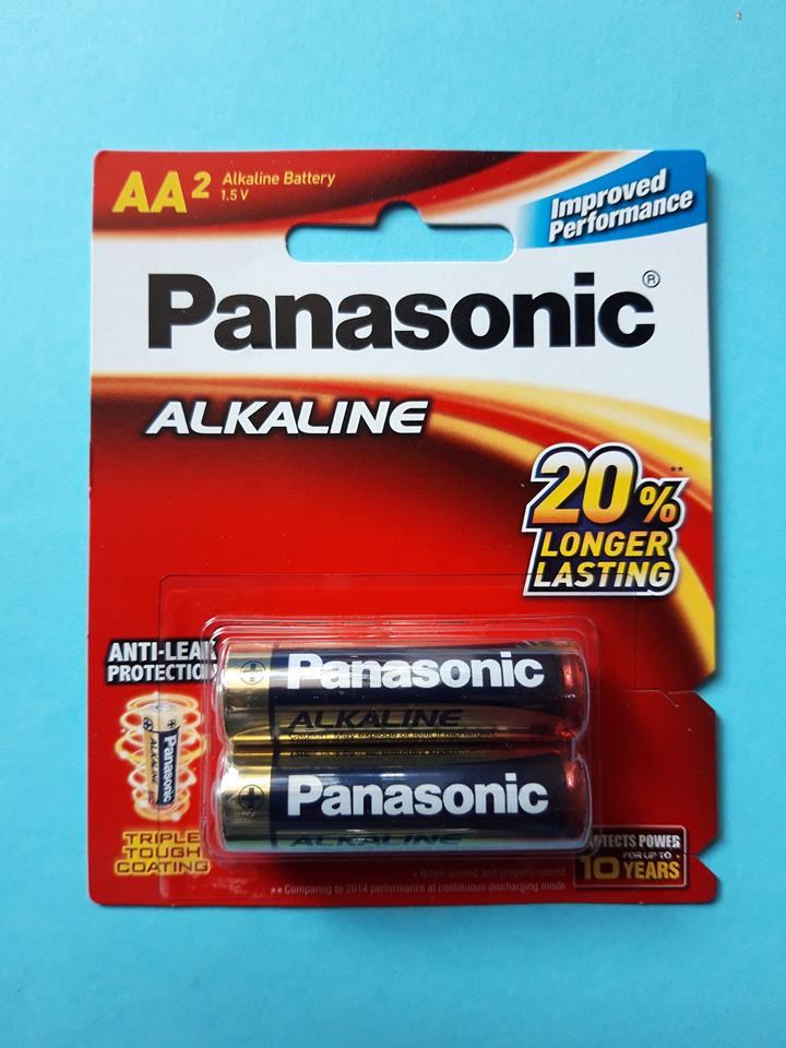 Pin tiểu AA LR6 Panasonic Alkaline LR6T/2B