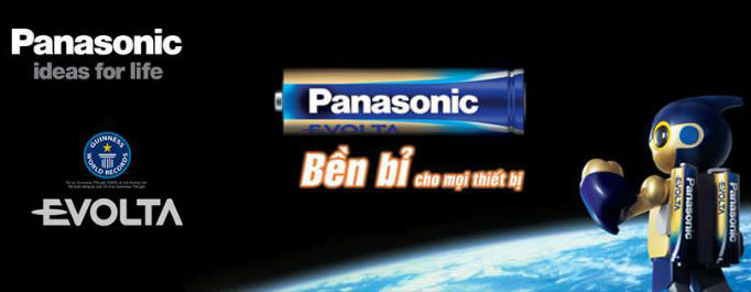 Pin Panasonic Hội An