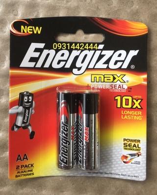 Pin AA Energizer Max E91 BP2 Đà Nẵng