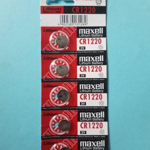 Pin CR1220 Maxell Lithium 3V chính hãng