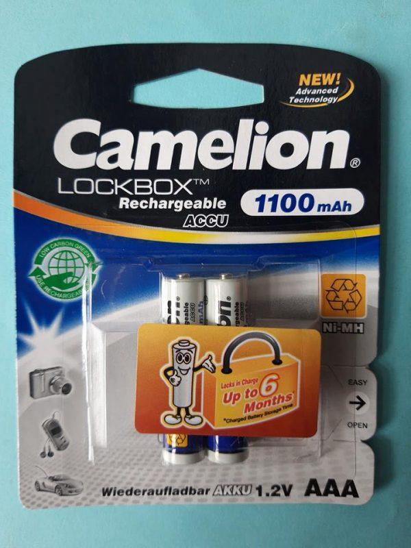 Pin sạc AAA Camelion 1100 mAh
