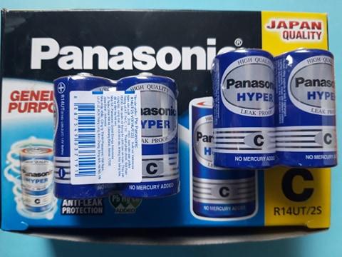 Pin trung Panasonic R14UT/2S 1.5V chính hãng