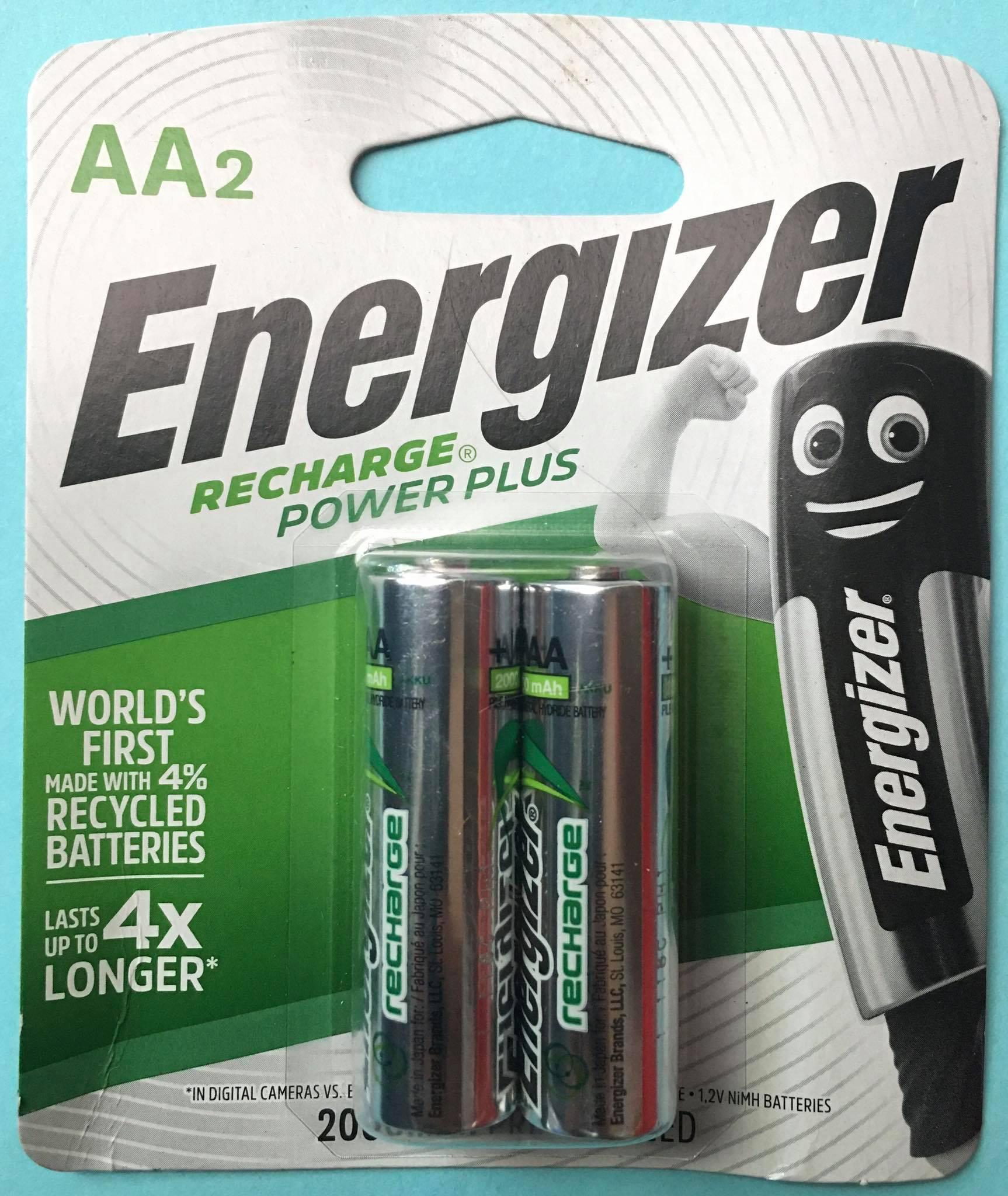 Pin sạc AA Energizer 2000mAh 1.2V Đà Nẵng