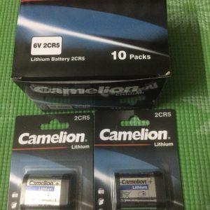 Pin 2CR5 Camelion 6V Lithium chính hãng Đà Nẵng