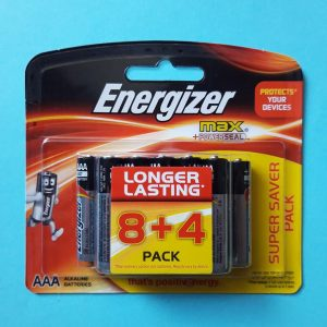 Pin AAA Energizer Max E92 BP8+4 vỉ 12 viên Đà Nẵng