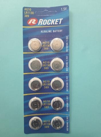 Pin LR1130 AG10 Rocket Alkaline 1.5V Đà Nẵng