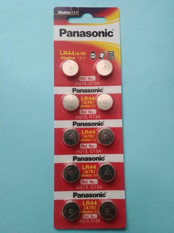 Pin LR44 Panasonic AG13 Alkaline 1.5V chính hãng Đà Nẵng