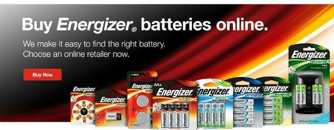 Nhà phân phối pin Energizer chính hãng