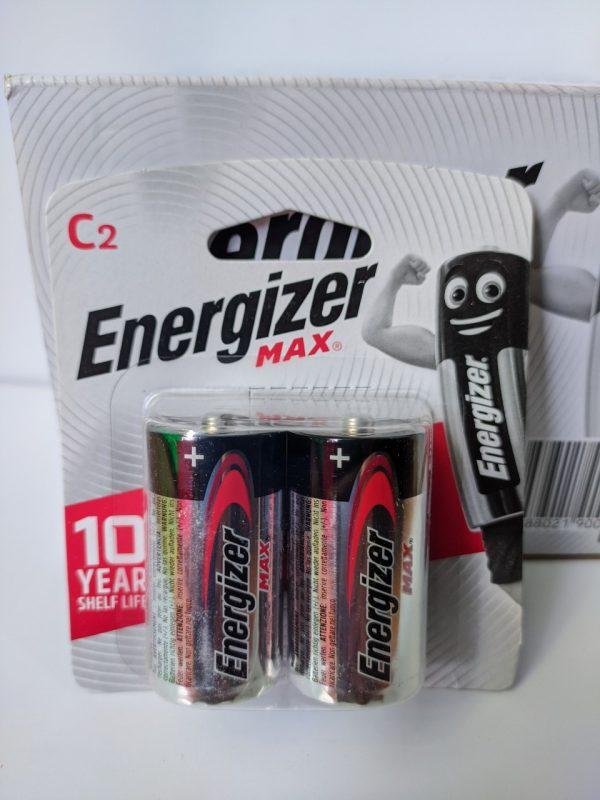 Pin trung Energizer Alkaline Max E93 vỉ 2 viên chính hãng