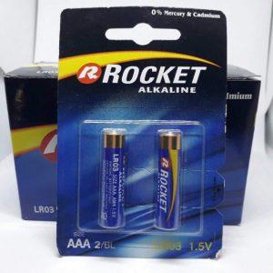 Pin AAA Rocket Alkaline LR03 1.5V