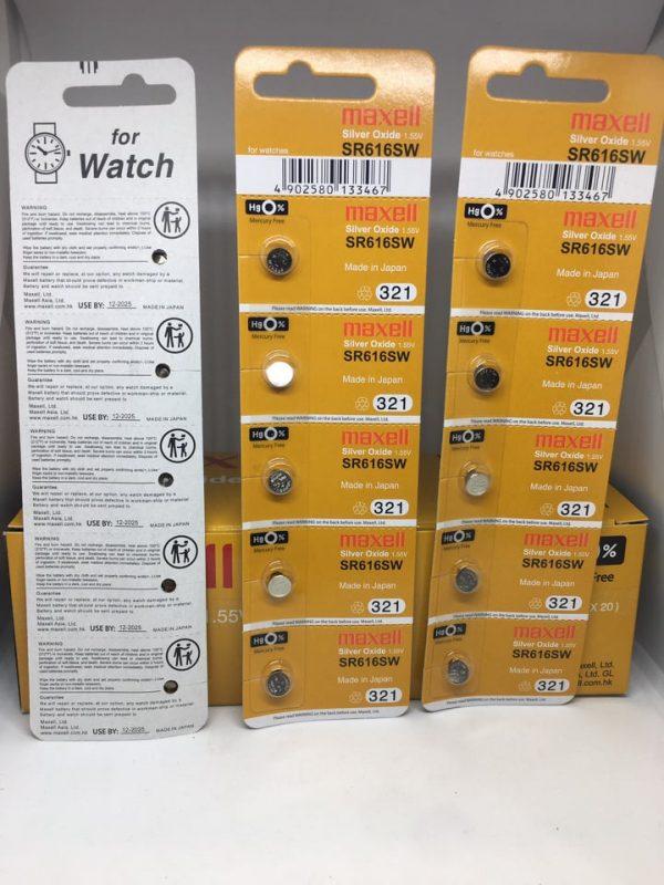 Pin đồng hồ Maxell SR616SW chính hãng Đà Nẵng