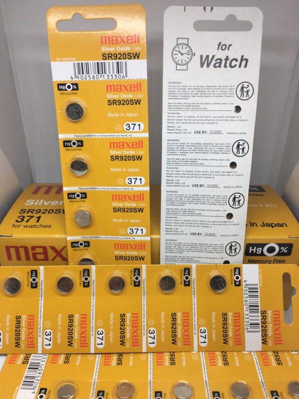 Pin đồng hồ Maxell SR920SW chính hãng