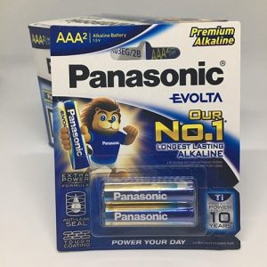 Pin AAA Evolta Panasonic LR03EG/2B 1.5V chính hãng