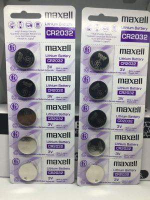 Pin Maxell CR2032 chính hãng Đà Nẵng