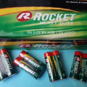Pin Rocket AA R6 Heavy Duty 1.5V chính hãng