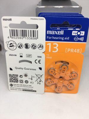Pin Maxell PR48 (13) - Pin máy trợ thính Đà Nẵng